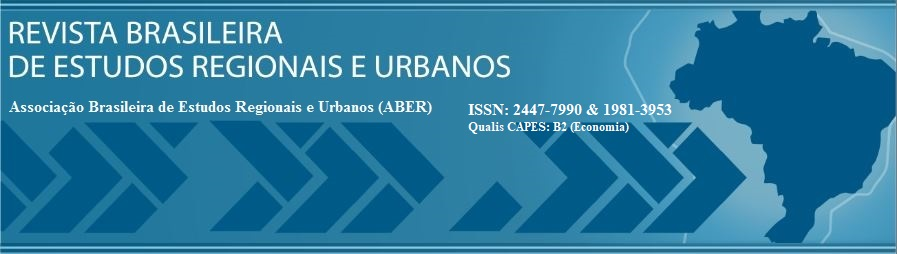 Revista Brasileira de Estudos Regionais e Urbanos